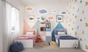best paint color combinations for kids