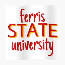 Ferris State University Fsu Sticker By Carissavanatta Redbubble