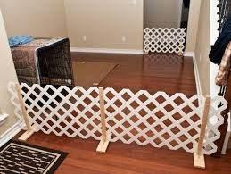 Pvc Free Standing Gated Fence Diy Google Search Diy Dog Gate Indoor Dog Fence Diy Dog Fence
