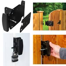 Gate Latch Fence Gates Handle Latches 2way Reversible Push Pull Open Activation 814280013496 Ebay