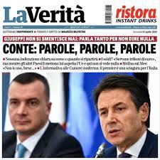 CONTE, TANTE PAROLE PER NON DIRE NULLA - Lega - Salvini Premier ...