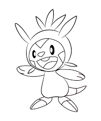 Chespin Coloring Page At Getdrawings Free Download