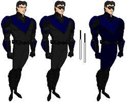 Aaron Schoenke as Nightwing by dragonmanor on DeviantArt