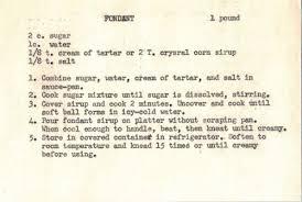 homemade fondant recipe variations