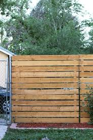 Not Only Was I Wanting To Create A Little Privacy I Wanted A Place For My Eyes To Land So I Wasn T Always Seeing Diy Privacy Fence Fence Design Cedar Paneling