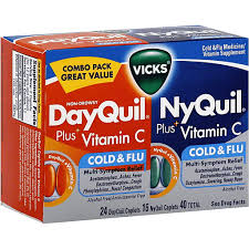 vicks dayquil nyquil plus vitamin c