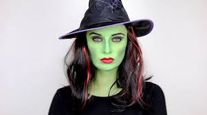 creative halloween witch makeup ideas
