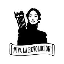 Hunger Games Vinyl Sticker
