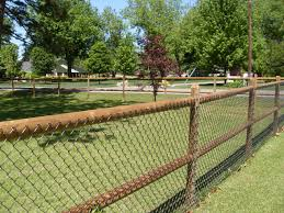 Chain Link Fence Decorations Black Coated Cyclone Fence Fence Ideas Site Procura Home Blog Chain Link Fence Decorations