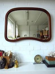 art deco wall mirror bevelled edge