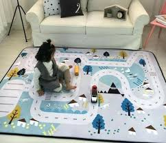Baby Squishy Carpet Kids Room Rugs Baby Mats Crawling Carpet Toys Storage Bag Kids Bedroom Game Carpet Rugs Carpets Baby Room Design Games Autoiq Co