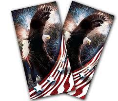 Cornhole Wraps American Usa Bald Eagle Vinyl Decals Etsy