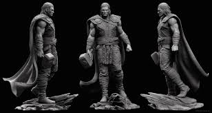 ArtStation - Thor Sculpt, Adam Fisher