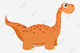 Hermoso Dinosaurio Ilustracion De Dibujos Animados Ilustracion De