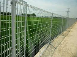 Pvc Coated Chain Link Fence Hot Dip Galvanized With Diamond Hole 6ft Height