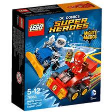 Mô hình lego super heroes - tia chớp đại chiến đội trưởng cold 76063