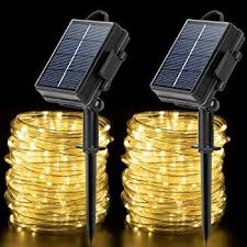 Amazon Com Bs One Solar String Lights Outdoor 200led 72ft Solar Fairy Lights Ip65 Waterproof 8 Modes Rope Lights For Home Garden Patio Wedding Parties And Christmas Decor Home Improvement