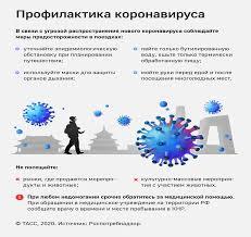 Памятка о мерах профилактики новой коронавирусной инфекции - Новости