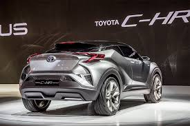toyota c hr concept wallpapers