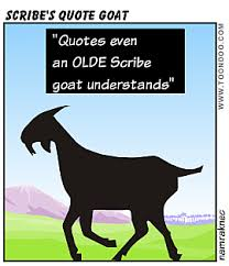 yos presents an election day quote goat bartblog