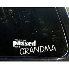 Amazon Com Slap Art I Love Being A Grandma Vinyl Decal Sticker Automotive