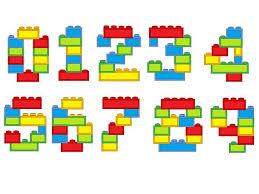 Block Numbers blocks, bricks, brick block Birthday numbers ...