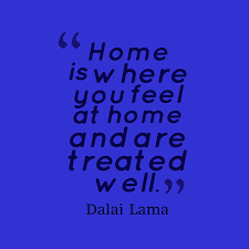dalai lama quote about home