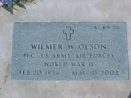 Wilmer Wayne Olson (1924-2002) - Find A Grave Memorial