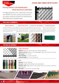 Chain Link Fence Slats Catalog