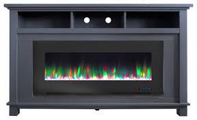 san jose electric fireplace tv stand