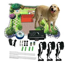 Electronic Dog Fencing System Dog Training Device Underground Shock Collar 3 Collars Pet Dog Electric Fence For 3 Dogs Pet Trainer Sale Banggood Com