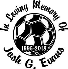Soccer Ball Custom Memorial Die Cut Vinyl Car Decal Designer Series Decals In Loving Memory Car Window Decals