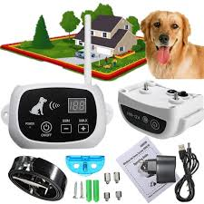 Electric Dog Training Fence Collar Rechargeable Pet Containment System Dog And Cat Wireless Fence 220v Radio Wireless Fences