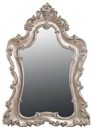 silver venus wall mirror victorian