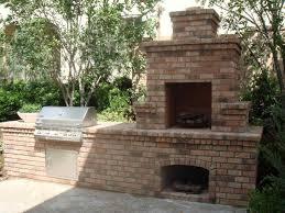 backyard bbq fireplace outdoor