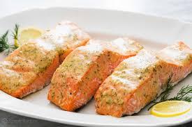 honey mustard baked salmon quick