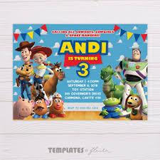 Toy Story Invitation Invitaciones De Toy Story Invitaciones Toy