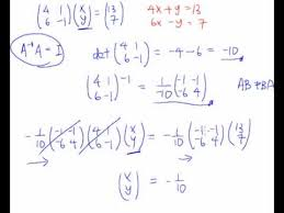 solve simultaneous equations