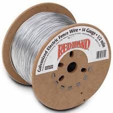 Red Brand Galvanized Electric Fence Wire 14 Gauge 2640 Ft At Tractor Supply Co