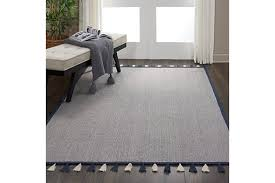 Nourison Kids Otto Dark Blue 5 X8 Flat Weave Area Rug Ashley Furniture Homestore