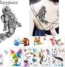 1 Arkusz Kreatywny Wodoodporna Tatuaz Wklej Papieru Km 029