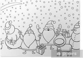Poster Kerst Karakters Kleurplaat Pixers We Leven Om Te