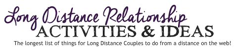 activities for long distance relationship couples to do while