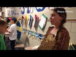 At Lurgan Elem's 5th grade Wax Museum, Adeline Williams is ...