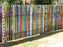 Nac Inc Picket Fence Art Installation Nannup Arts Council Inc