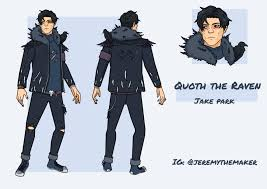 Quoth the Raven - My Jake Park Design : deadbydaylight