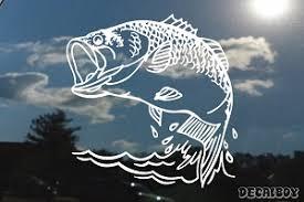 Bass Decals Stickers Decalboy