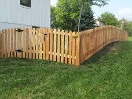 4ft Space Picket Mac S Fence