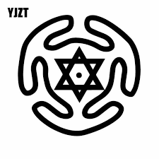 Yjzt 15cm 14 8cm Pagan Hecate S Circle Witchcraft Symbols Vinyl Decal Graphic Car Sticker Delicate Black Silver C27 0268 Car Stickers Aliexpress