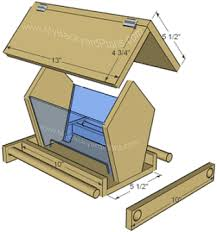How To Build A Bird Feeder Instructions And Pictures Part 2 Diy Bird Feeder Wooden Bird Feeders Bird House Feeder